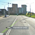 Улица Каролинская - Маршруты ГАИ