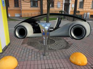 Электрозаправка на Парке Челюскенцев