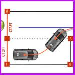Боковая парковка автомобиля