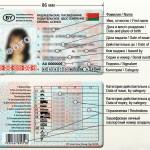 Новое водительское удостоверение