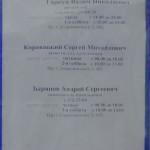 Руководство УГАИ ГУВД Минскгорисполкома. Фотография со стенда ГАИ в Минске на Семашко 17