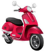 К категории «АМ» относятся скутеры, мопеды и легкие квадрациклы с рабочим объемом до 50 кубических сантиметров