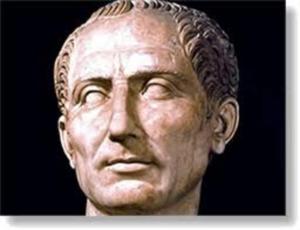 Юлий Цезарь, примерно год 50-й до Нашей Эры, выпустил свод правил ПДД.