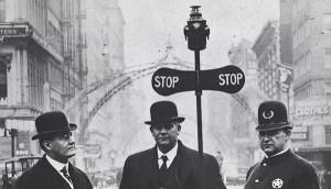В 1868 году перед парламентом в Лондоне был установлен первый семафор
