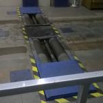 Валики для проверки тормозной системы при проверке тормозной системы