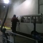Этап проверки тормозной системы при прохождении техосмотра