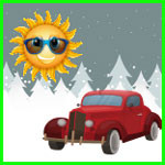 Обучение вождению зимой или летом