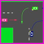 Проезд сложных перекрестков