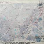 Экзаменационный маршрут ГАИ №21