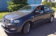 Автомобиль инструктора по вождению Кравченко