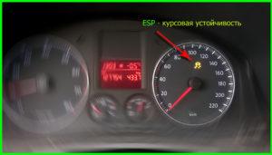 Задача ESP - контролировать поперечную динамику автомобиля и помогать водителю в критических ситуациях — предотвращать срыв автомобиля в занос и боковое скольжение.